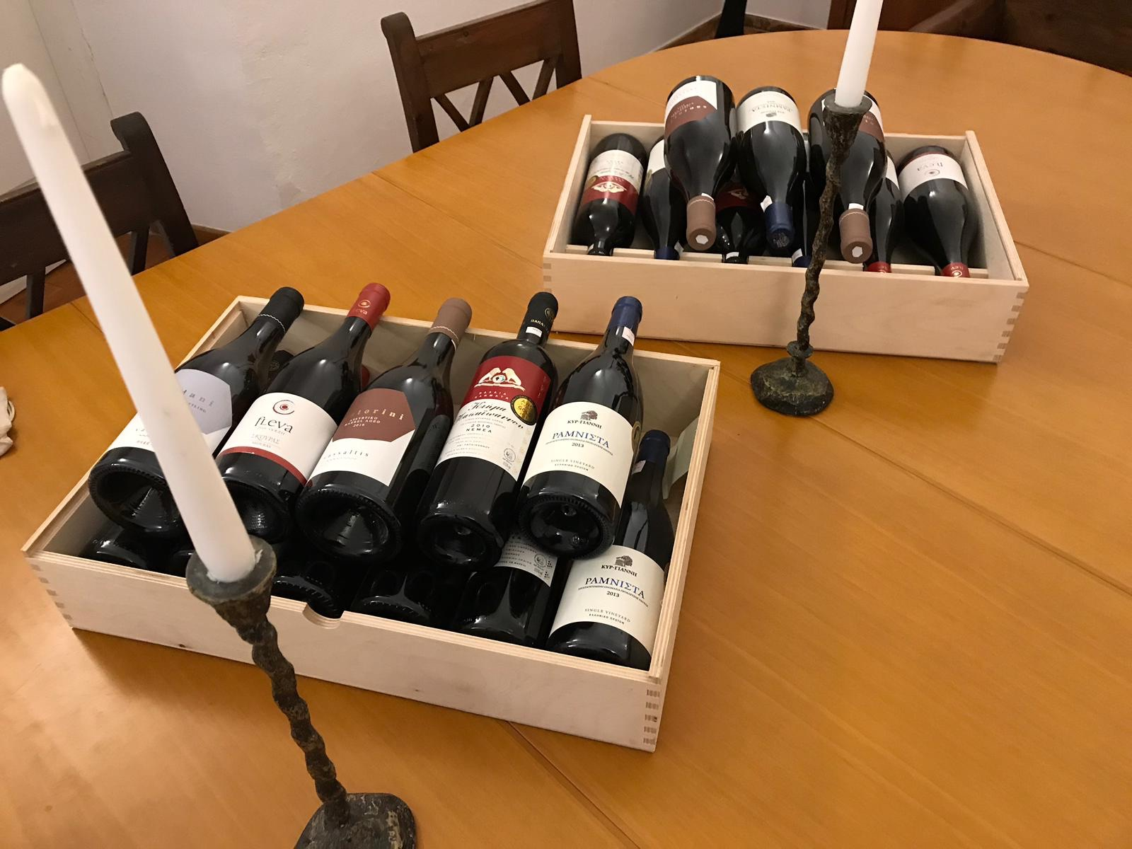 Greek wines have been transformed in recent years - quality is the order of the day