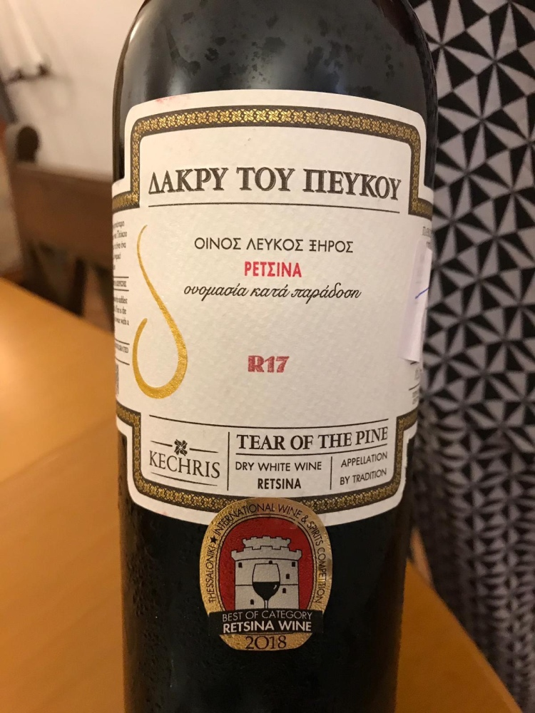 Retsina Wine - 2018 style - transformed Greek wines