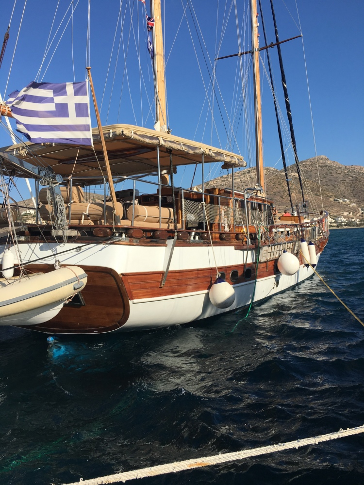 Greece by Sail - Kapitan Kosmos our traditional timber sailing boat