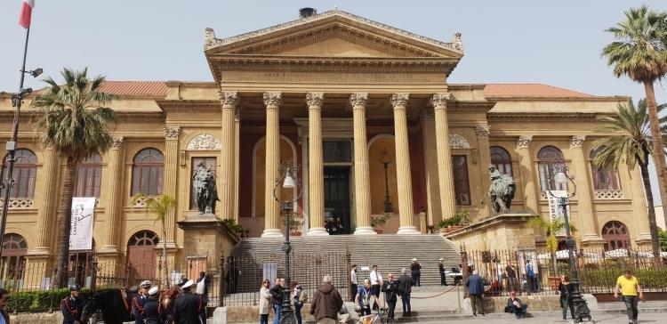 Palermo - Massimo Theatre is a 19th century colossus