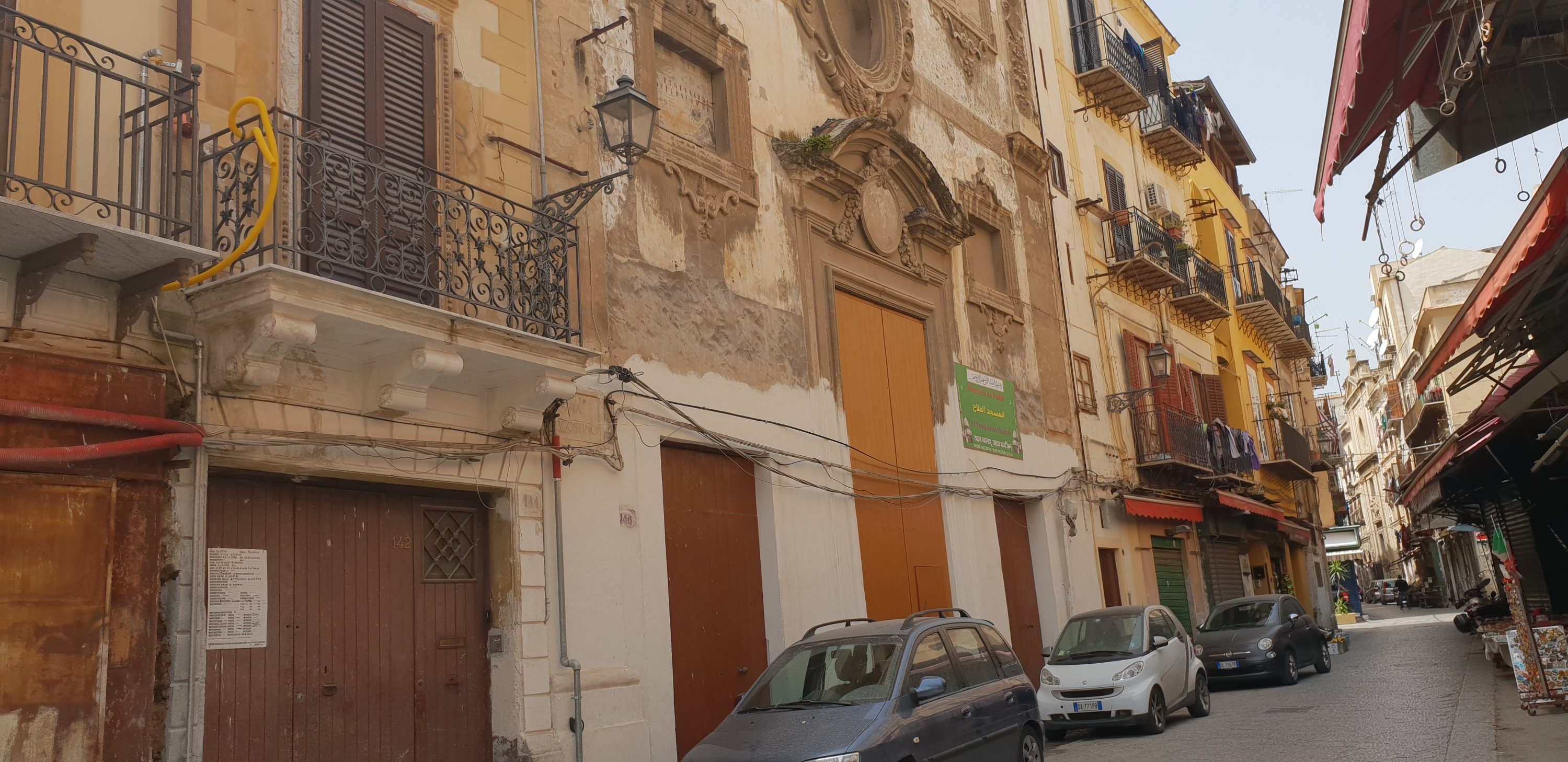 The back streets of Palermo are a delicious mixture of Baroque architecture, tiny cars (usually dented on all corners) and vibrancy