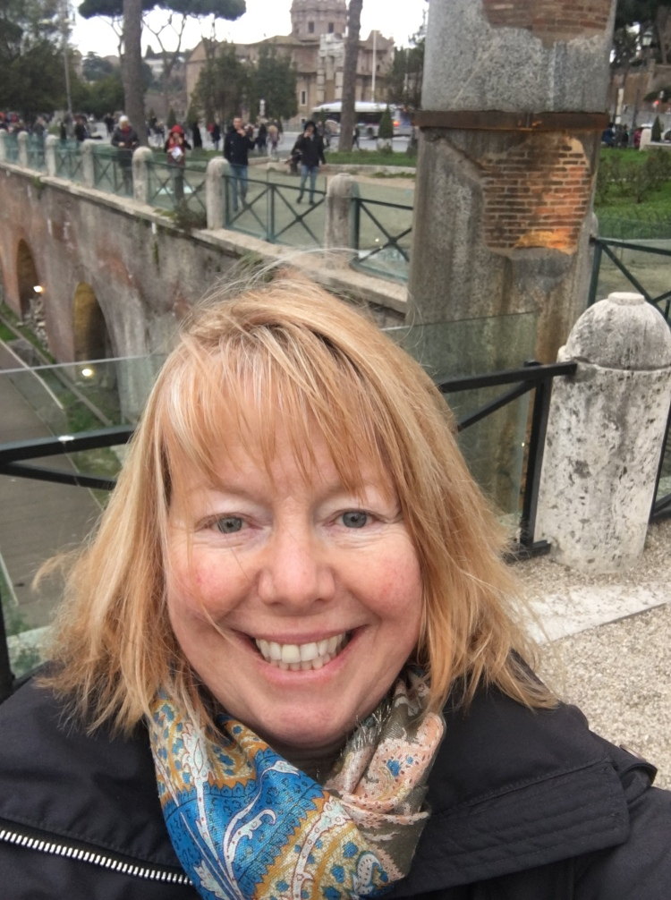 Janet - tour guide and travel writer, Rome - March, 2018
