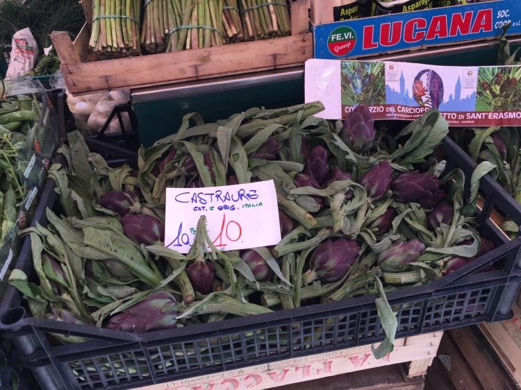 Carciofo Violetto di Sant'Erasmo, Purple Artichokes of Sant'Erasmo, Venezia