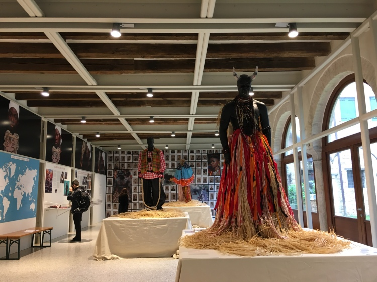 Antigua & Barbuda 'Carnival and Resistance' display at 2019 Biennale. www.educated-traveller.com