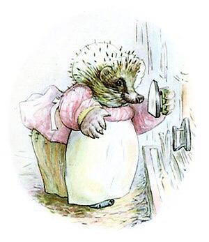 Mrs Tiggywinkle - my favorite character https://wp.me/p5eFNn-1tJ