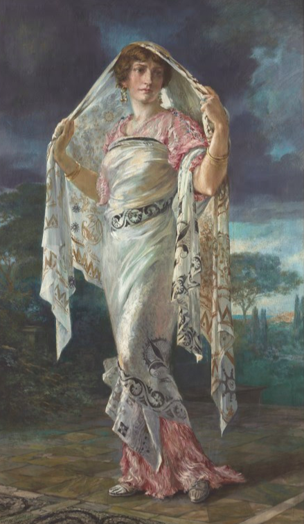 Henriette Negrin painted by Mariano Fortuny c.1935