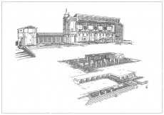 Rome - Basilica of San Clemente, 12th, 4th and 1st Century places of worship