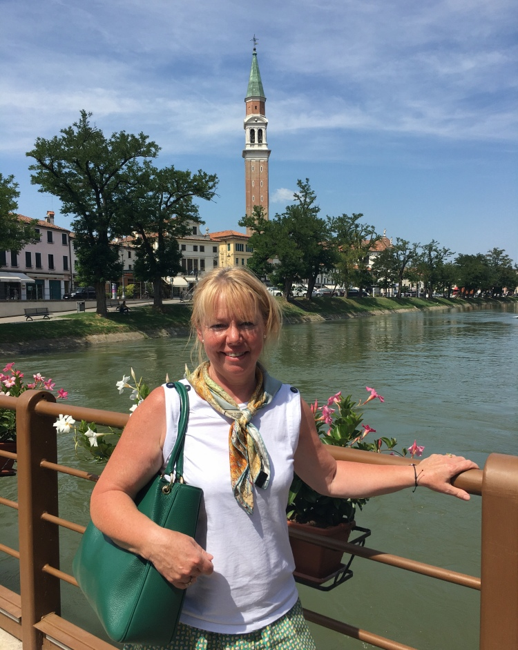 Grand Tourist and Educated Traveller Janet Simmonds - Dolo, Veneto