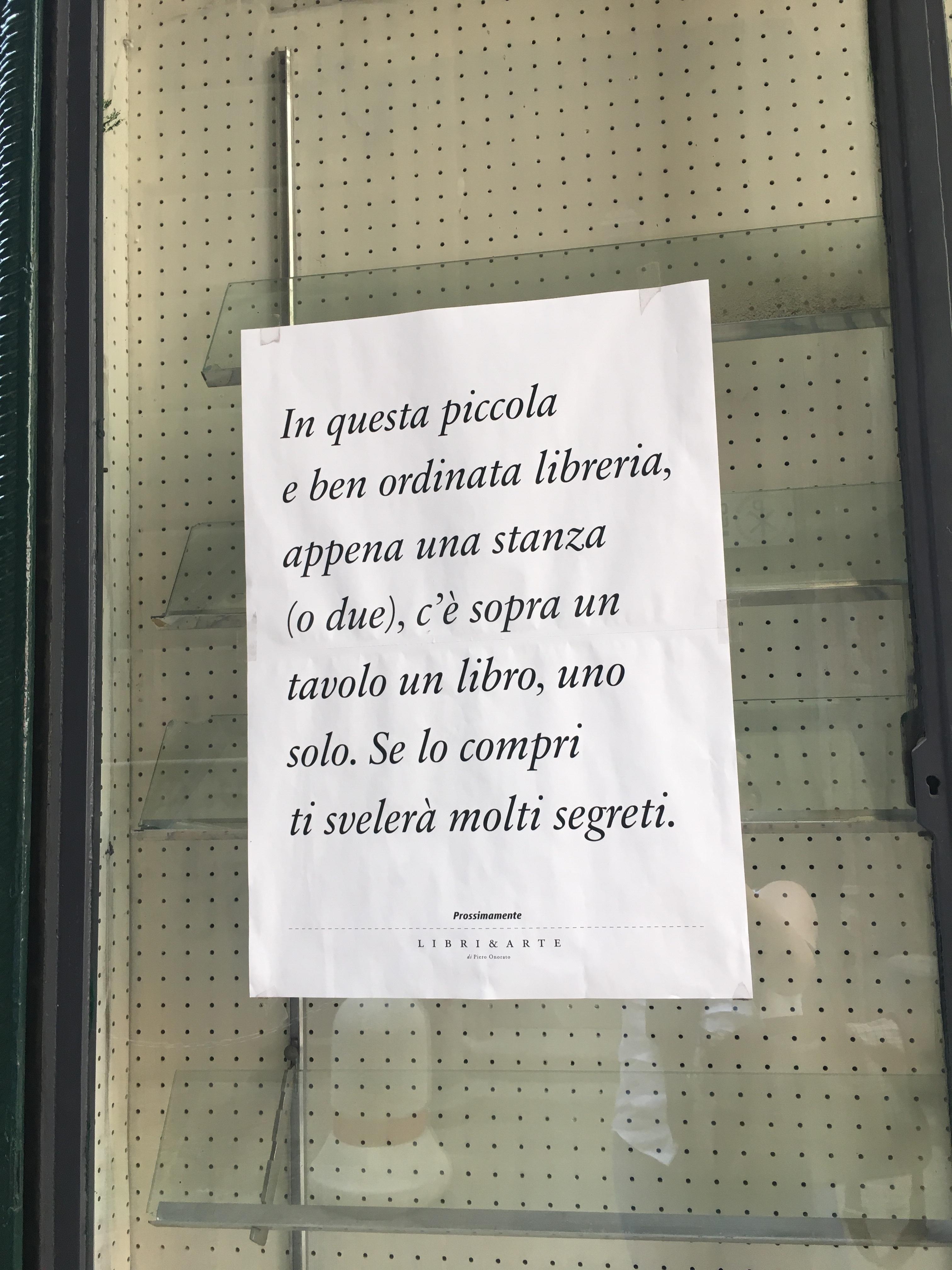 La Stanza di Carta, Bookshop, Palermo