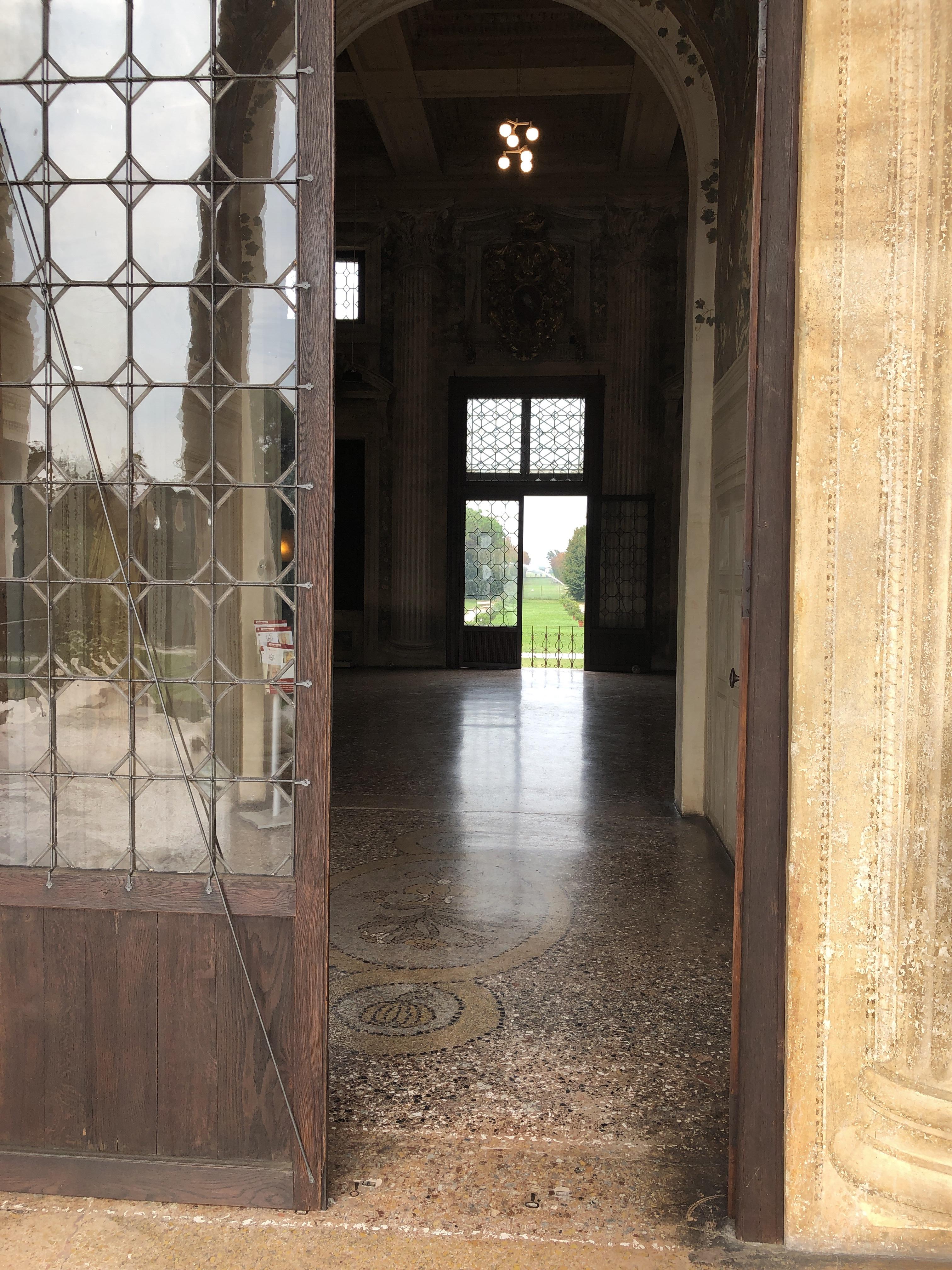 Horizons and Perspectives at Villa Emo, Fanzolo, Veneto