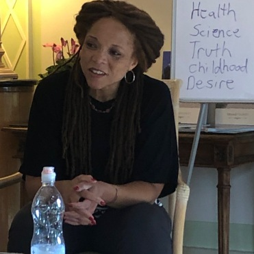 Sophfronia Scott - our teacher, Writer's Retreat - Sept 2019