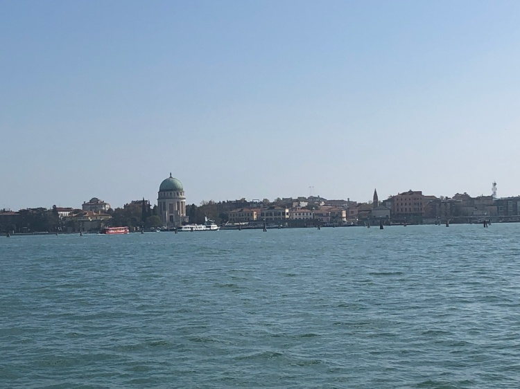The Lido of Venice is a large barrier island that protects the Venetian Lagoon from the Adriatic Sea