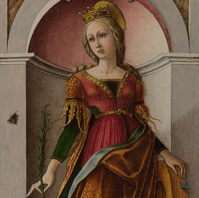 Carlo Crivelli - St Catherine of Alexandria - National Gallery, London