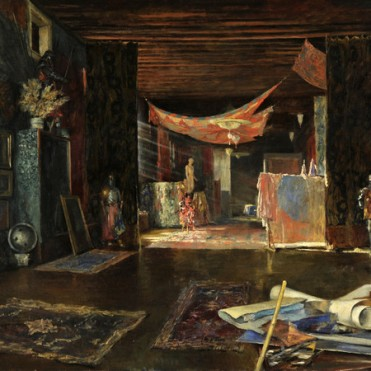 Fortuny - Atelier of an artist