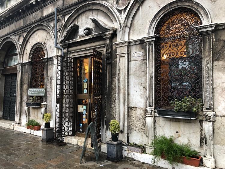 The Herbalist Shop next door to San Zaccaria Church, Venice
