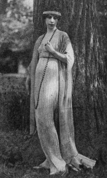 Mrs Conde Nast - Delphos gown c. 1920s