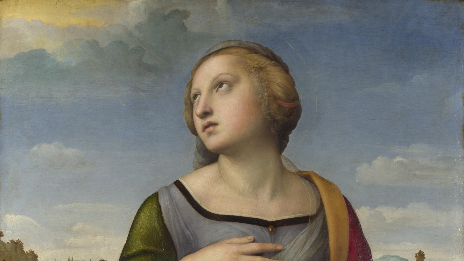 Raphael - St Catherine of Alexandria, National Gallery - London