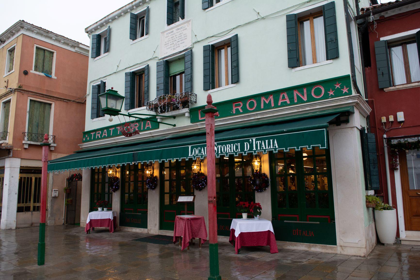 Dec 2019 - Da Romano Burano - Locanda Storica d'Italia