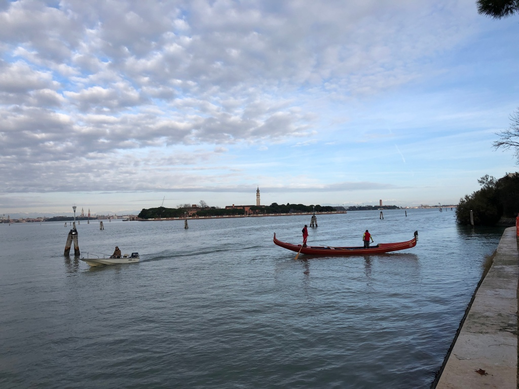 Venice - the lagoon, largest natural and safe anchorage for boats in the Northern Adriatic for centuries.