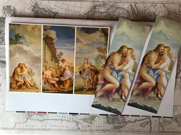Jupiter and Io myth, Villa Emo, Fanzolo, Veneto