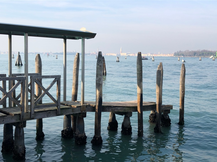 Venice - from Lido - Jan 2020, sunshine to welcome the New Year