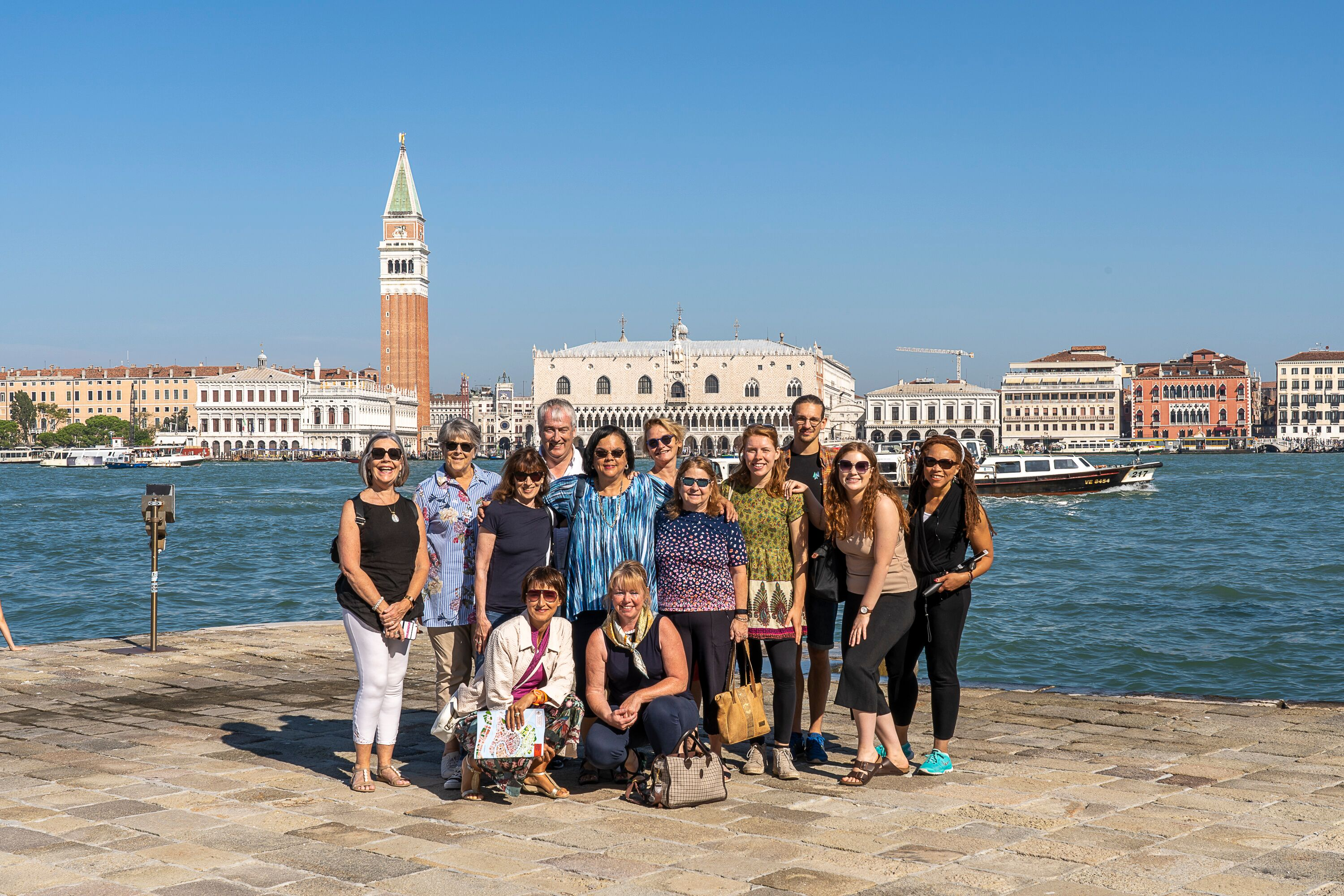 2019 - group photo 'Writer's Retreat' Sept, 2019 - Venice - why not join us in Sept, 2020