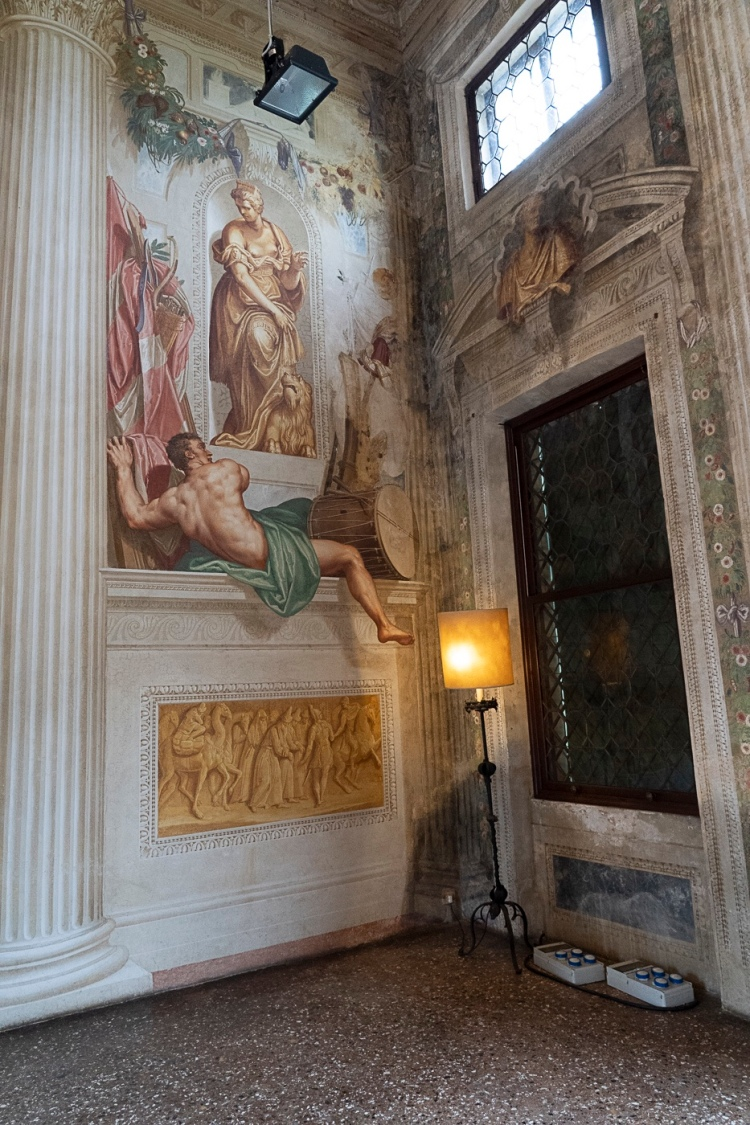 Villa Emo frescoes by Zelotti - exceptional 'trompe l'oeil' artistry.