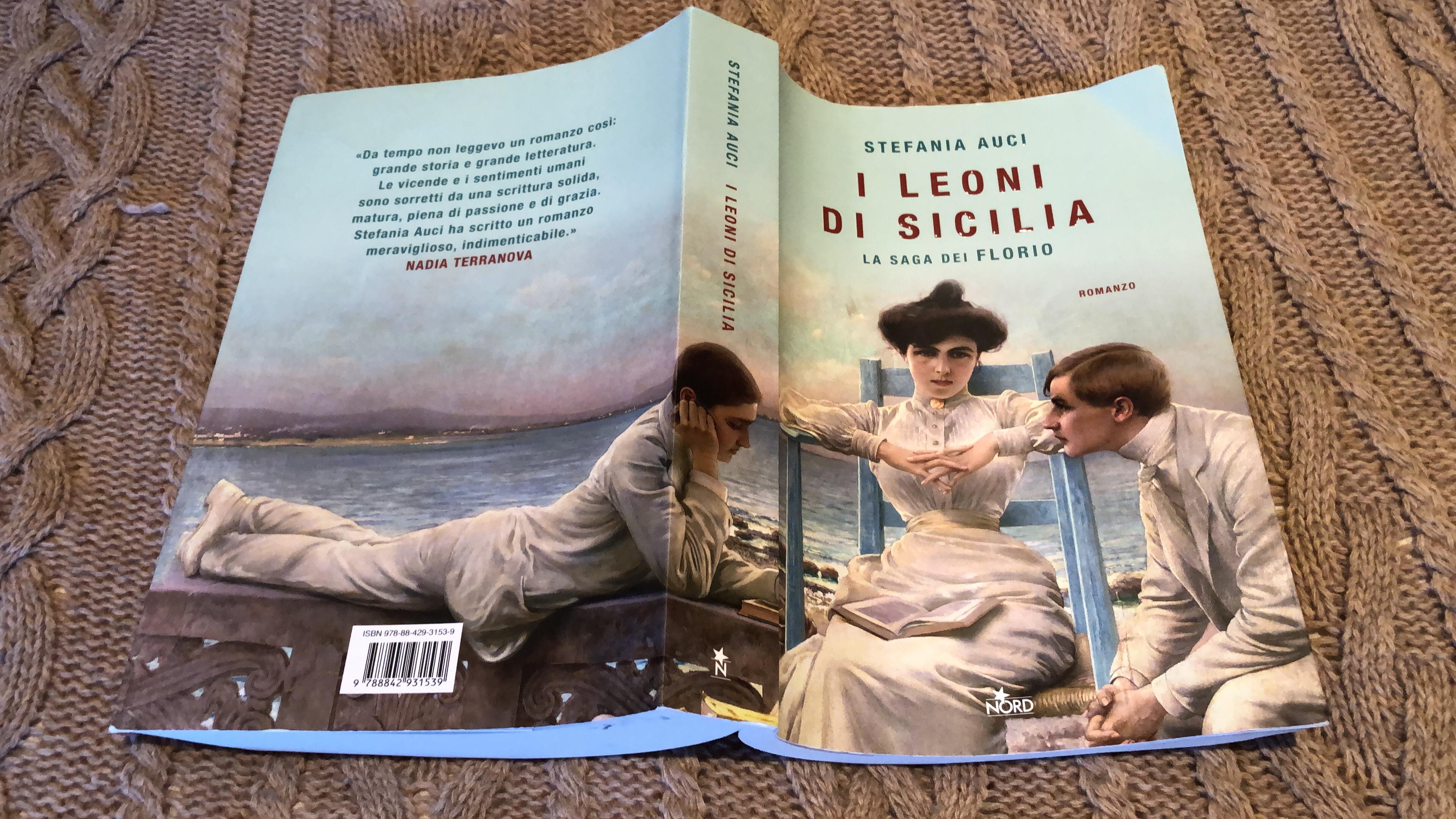 Fabulous new novel by Stefania Auci - brilliant