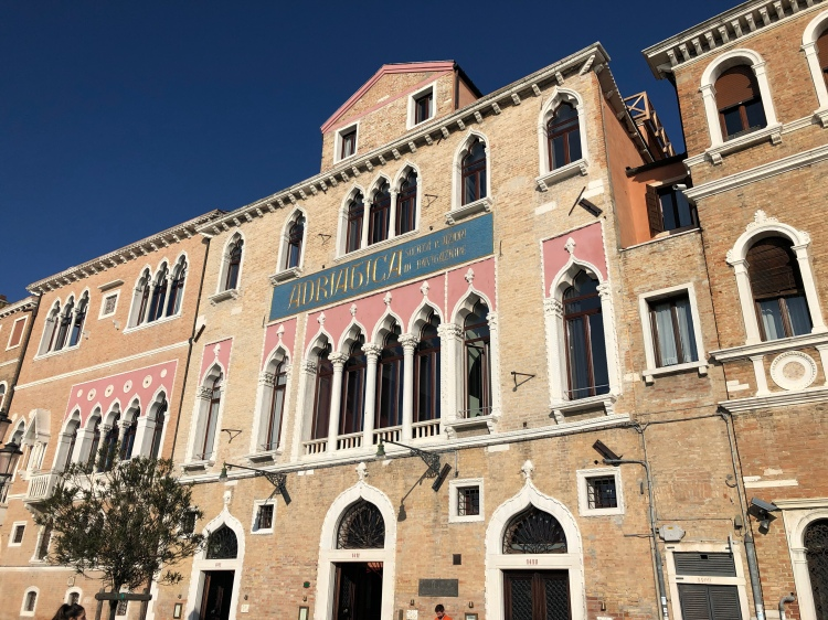 The fabulous Adriatica Building, Zattere, Venice www.educated-traveller.com
