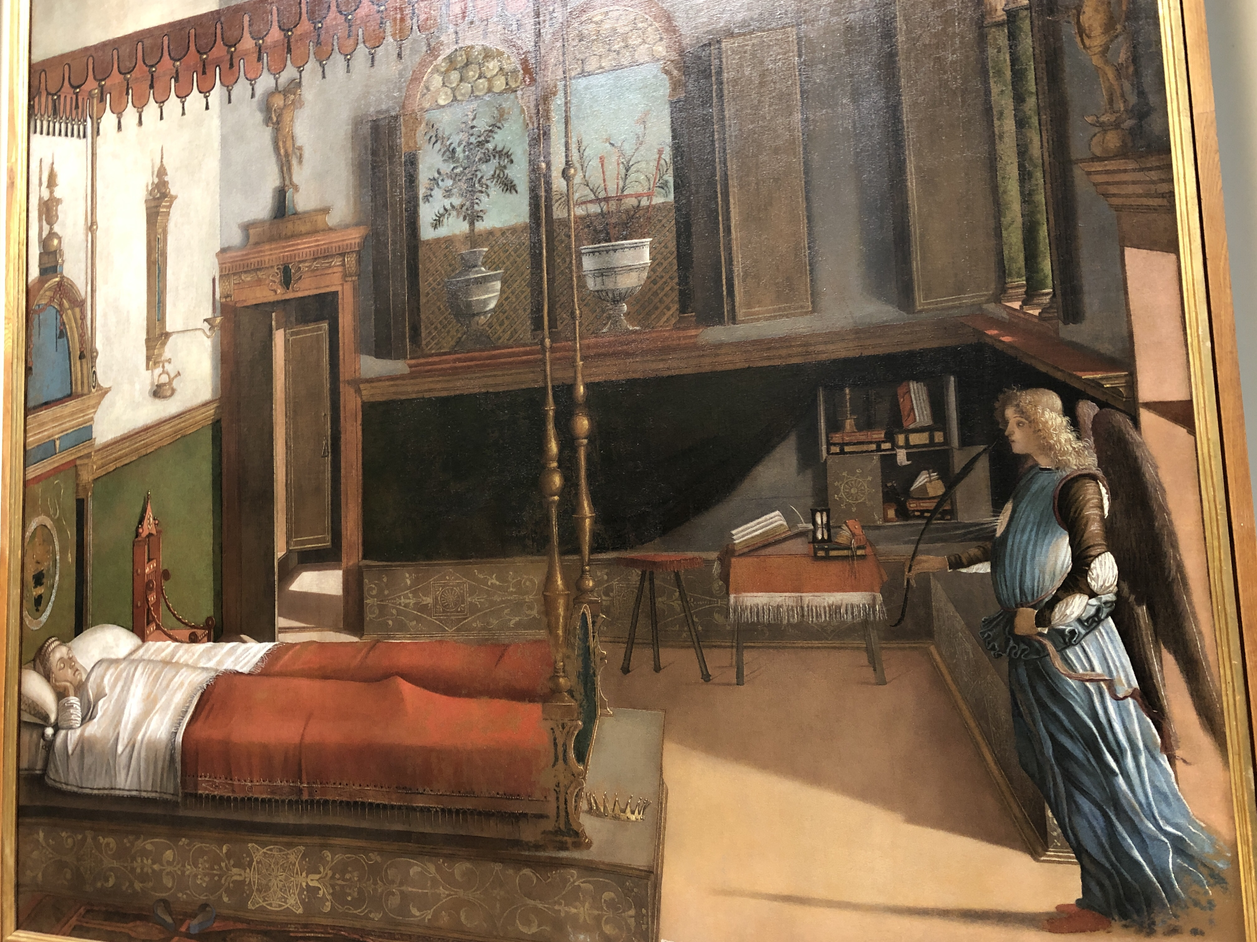 The Dream of St Ursula - Accademia, Venezia - artist Carpaccio