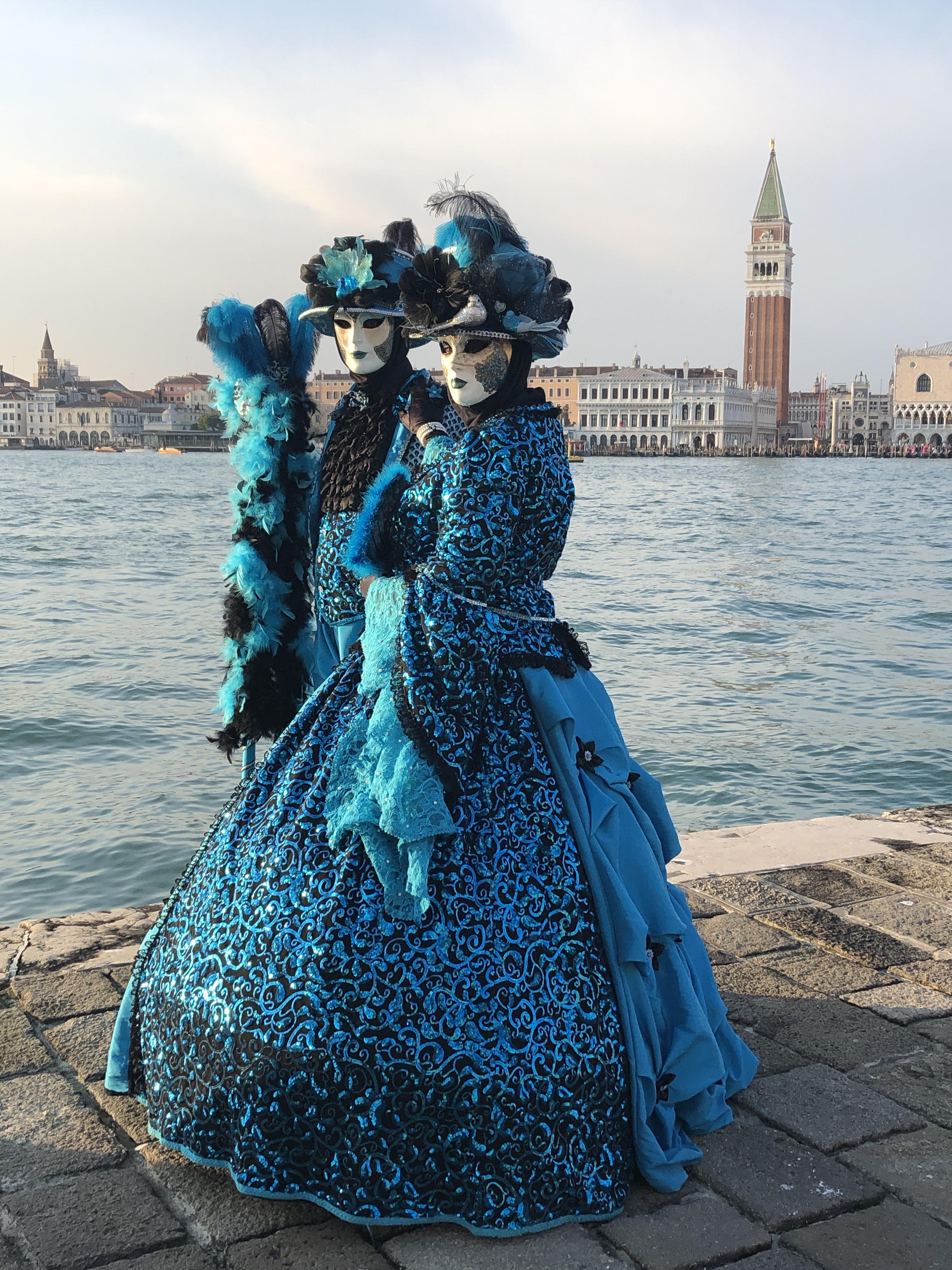 Carnival 2020 - San Giorgio Maggiore, Venezia www.educated-traveller.com