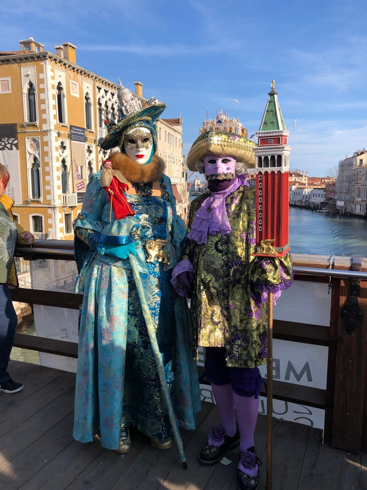 It has to be Carnevale di Venezia 2020