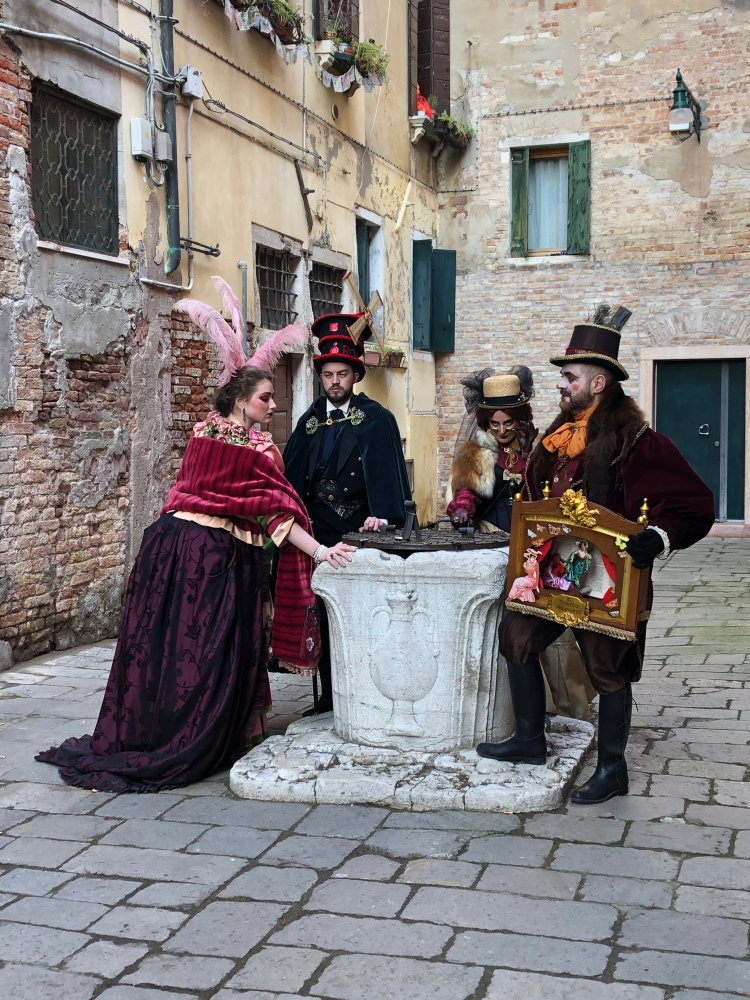 Our friends from Senigallia - Anna and Lorenzo Marconi - Carnevale 2020