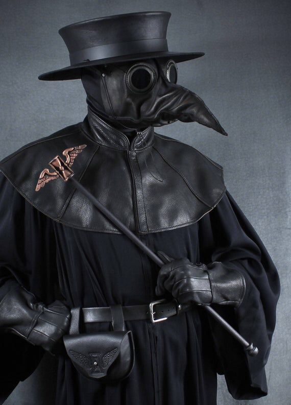 The Plague Doctor of the 18th century - Venice.