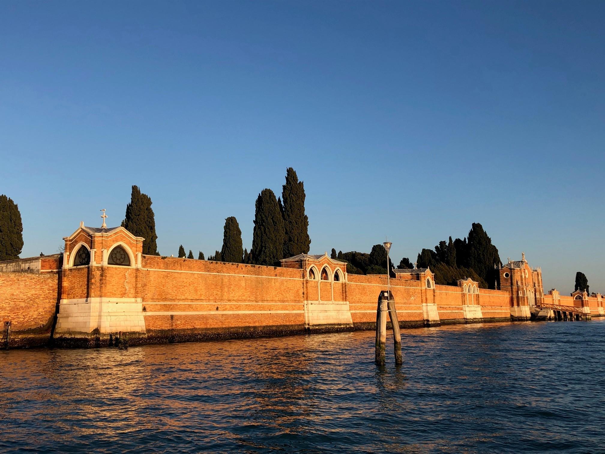 San Michele, Venezia - cemetery island basking in the evening sun
