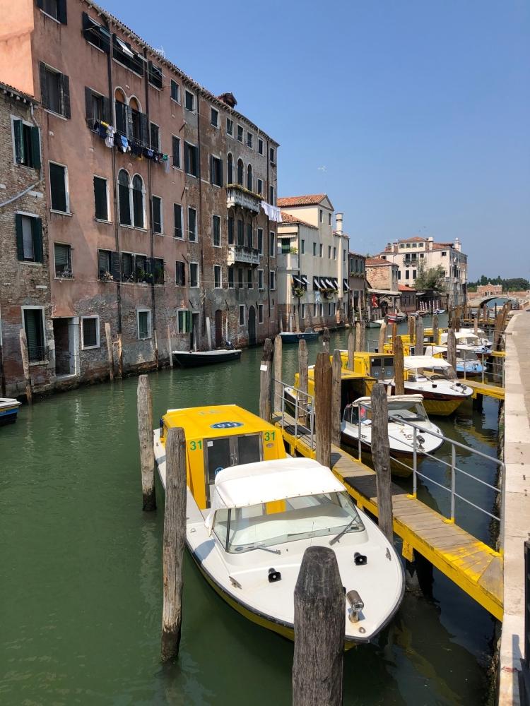 Even the ambulance service is by boat - Venezia