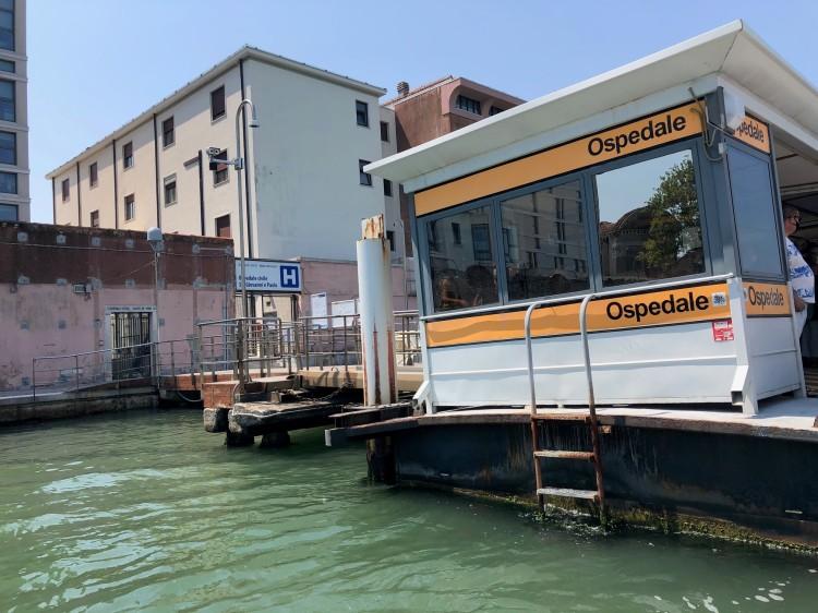 Venezia - Ospedale - lagoon entrance
