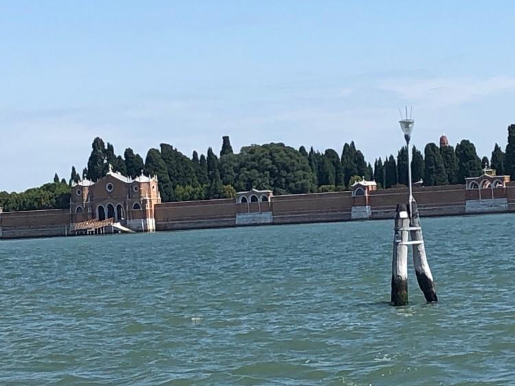 Venice - San Michele and briccole