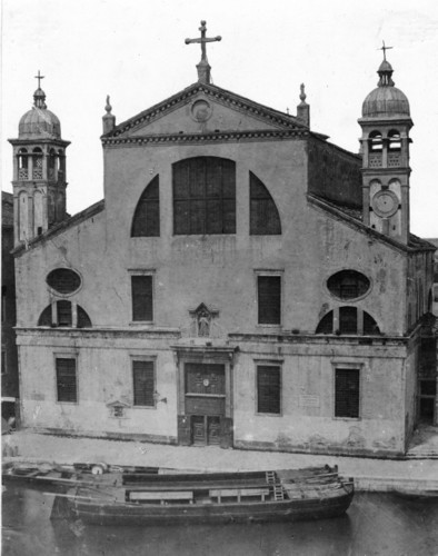 The Church of Santa Lucia - 1861 (Bonaldi)