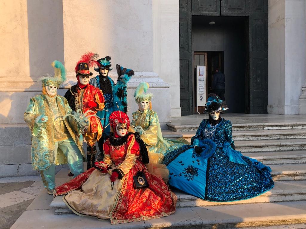 Venice Carnival 2020 - Photo session San Giorgio Maggiore