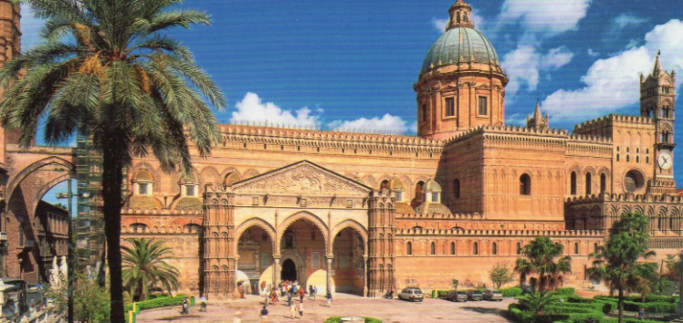 Palermo Cathedral - a vast, intricate palace of architectural brilliance