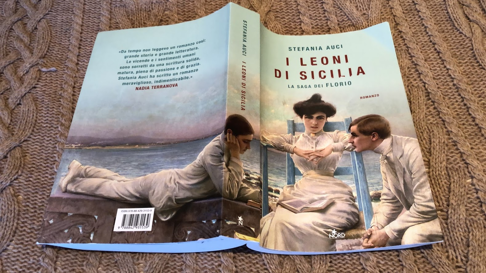 Sicily - I Leoni di Sicilia - A novel by Stefania Auci - best read by far for me in recent months. www.educated-traveller.com