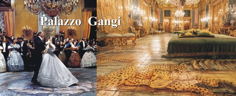 Il Gattopardo (The Leopard) 1963 starring Burt Lancaster, Claudia Cardinale and Alain Delon - The Ballroom scene - Palazzo Gangi