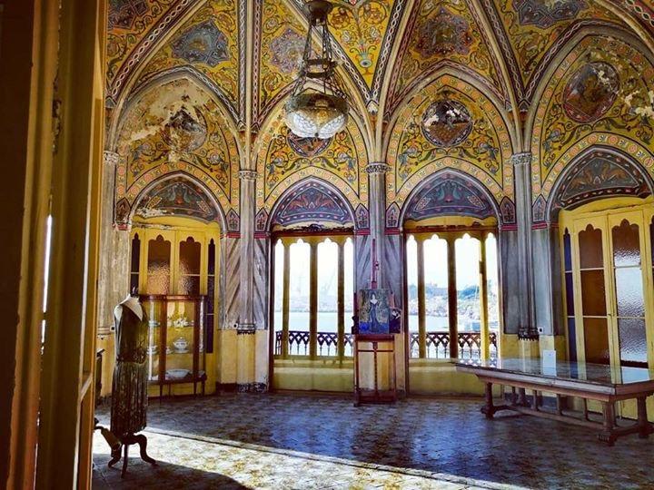 Villa Quattro Pizzi - Arenella, Palermo - built for the Florio family in the 1890s.