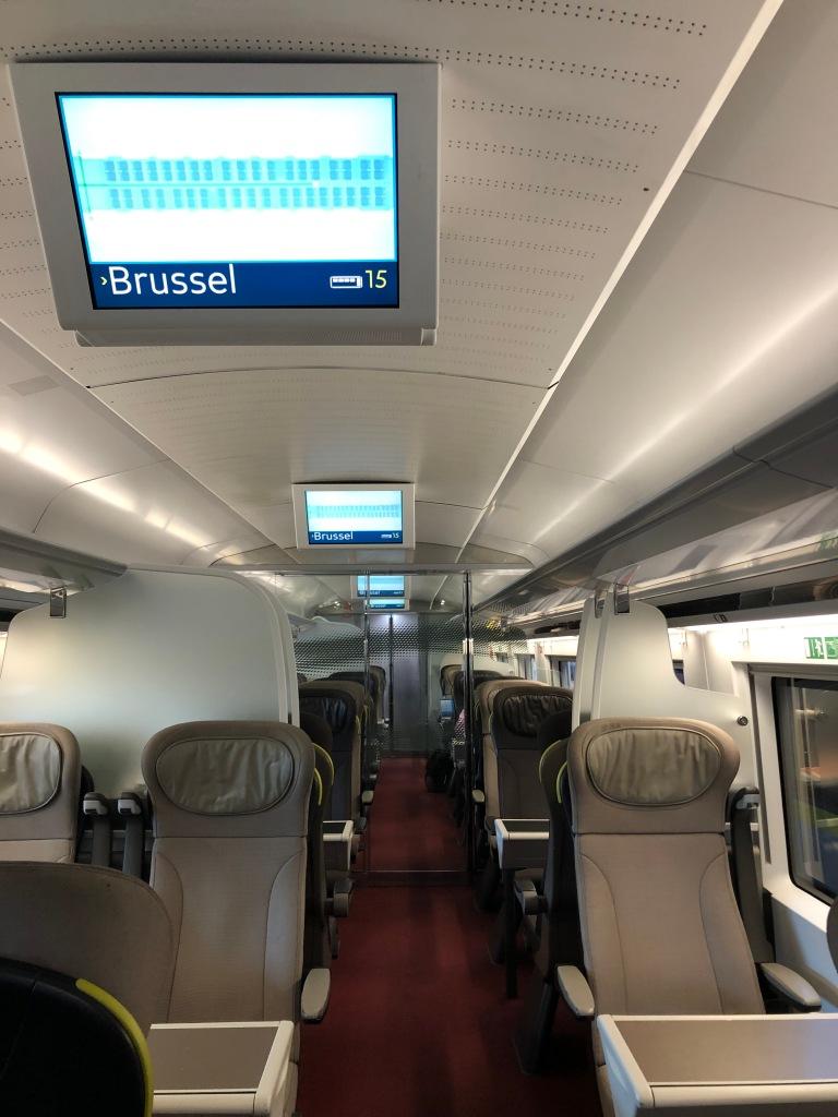 TRAIN - Eurostar London to Brussels www.educated-traveller.com