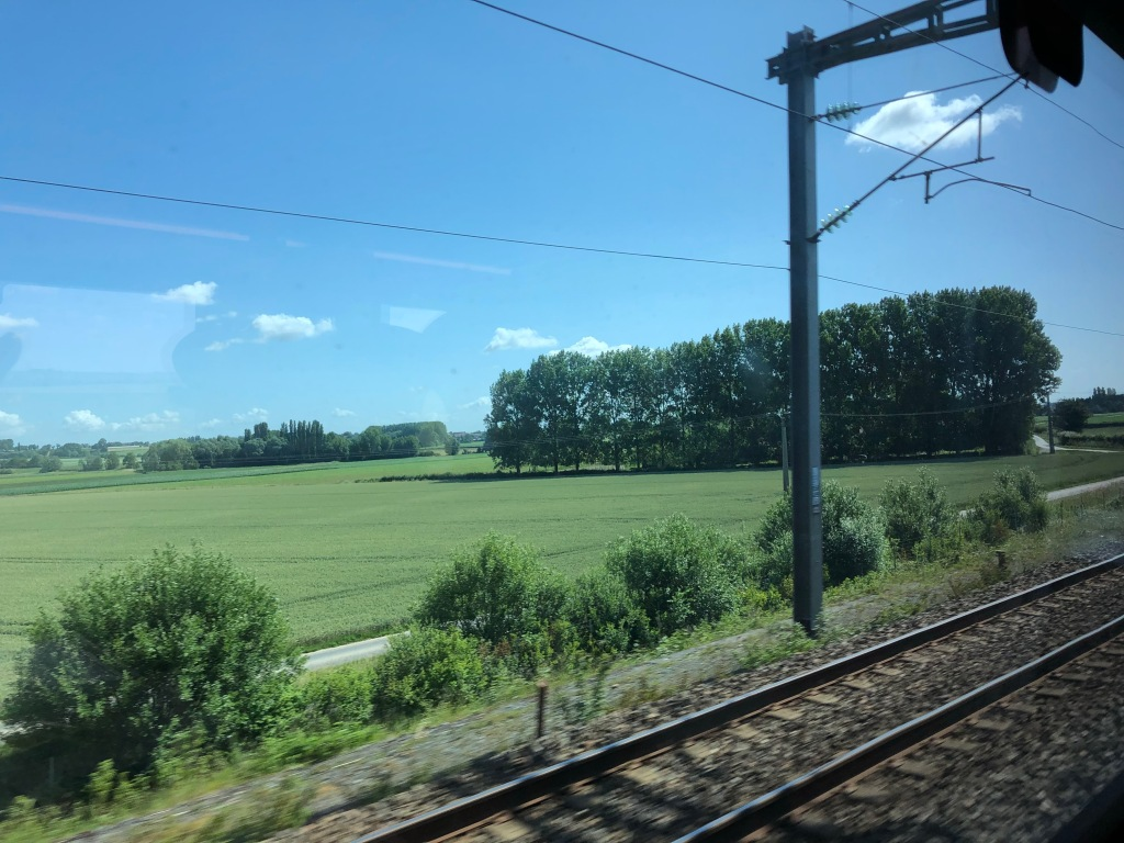 TRAIN - French countryside  www.educated-traveller.com
