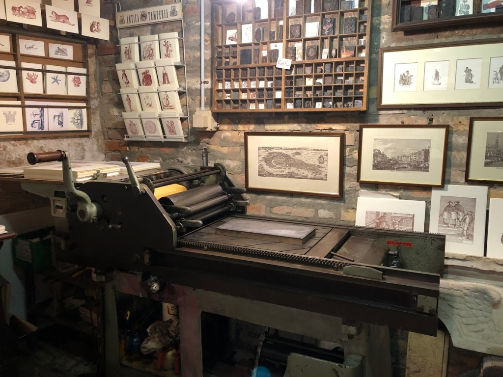Gianni Basso - a true artisan printer - Venice, January, 2020 www.educated-traveller.com
