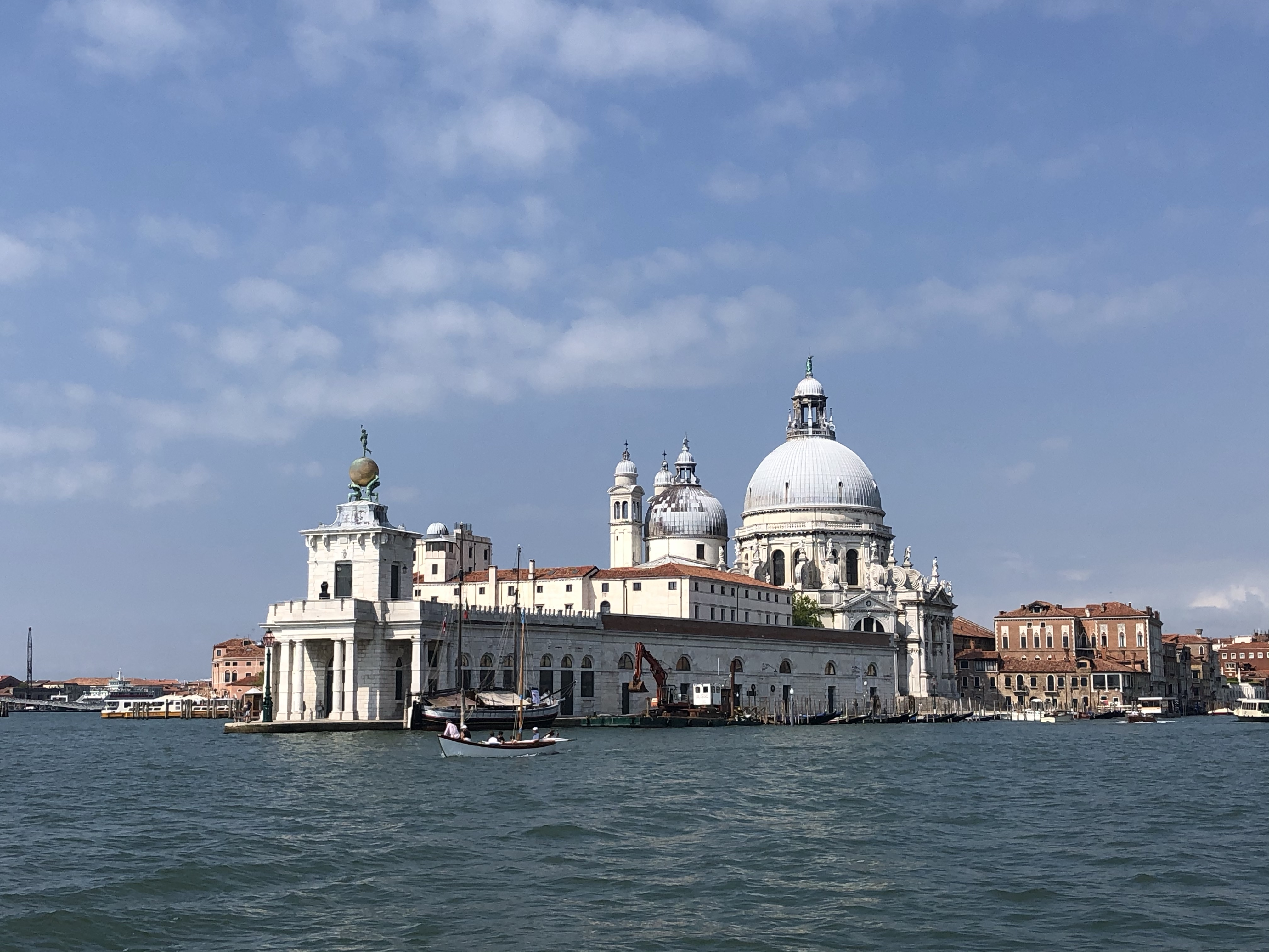 Santa Maria della Salute was built in the 17th century by grateful Venetians who'd survived the plague www.educated-traveller.com