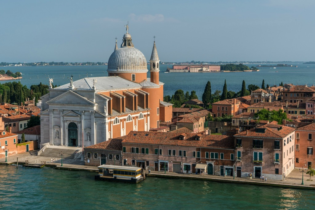 The Church of Redentore, Giudecca, Venice - photo Hotel Biassuti, Lido di Venezia