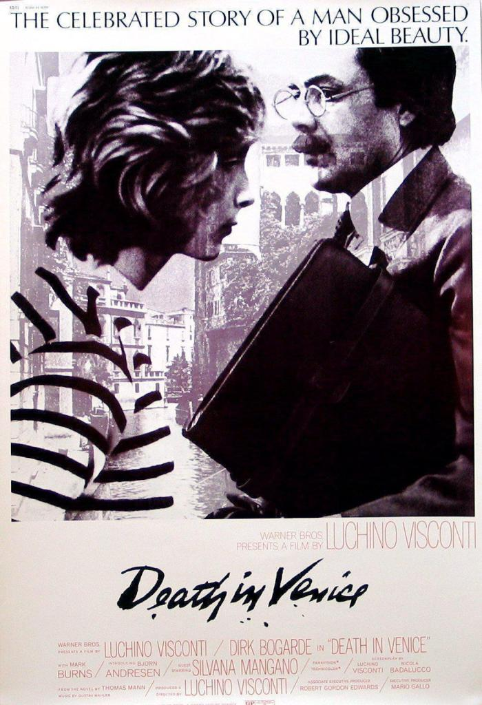 Death in Venice - vintage poster (1971) to promote the film
